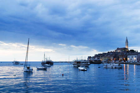 Rovinj after sunset Stock Photo - 2613591