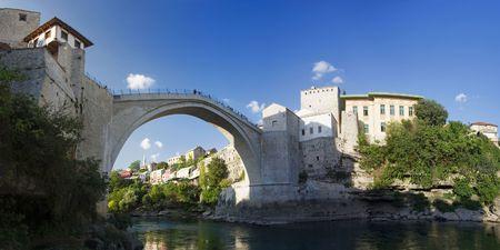 Mostar, Bosnia and Herzegovina Standard-Bild