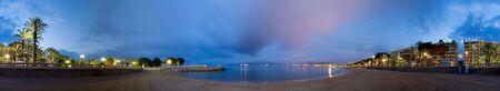 d'azur: La Croisette Beach in Cannes, France Stock Photo