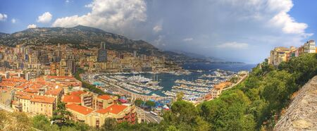 A panorama of the beautiful Monte Carlo