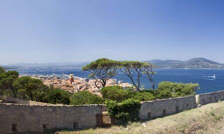 tropez: The beautiful town of Saint Tropez, France Stock Photo