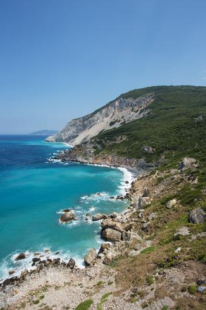Aegean sea, seen from the greek island of Skiathos Stock Photo - 22236808