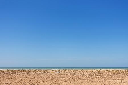 sahara: Atlantic ocean seashore, seen from Western Sahara