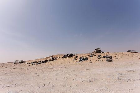 wrecks: Car Wrecks in the no-mans land between Morocco and Mauritania