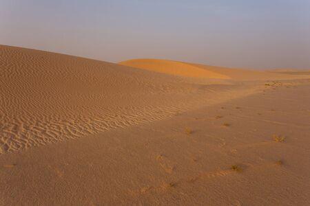 sahara: The Sahara desert in Mauritania Stock Photo