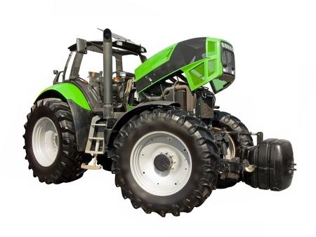 Inspektion von Traktor-Motor Standard-Bild - 21490765