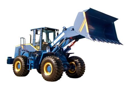Grote buldozer Stockfoto