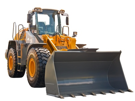 wheel tractor: Buldozer