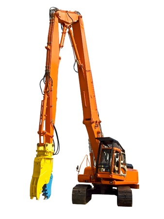dismantling: Robot for dismantling Stock Photo