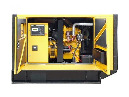 alternator: Large generator