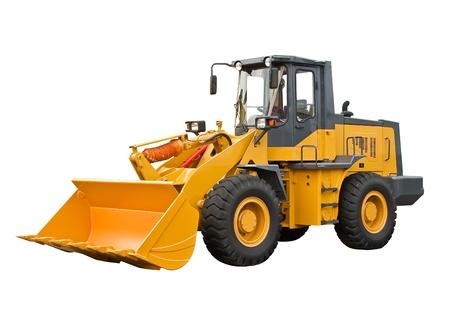 Leistungsstarke buldoser Standard-Bild - 21621463