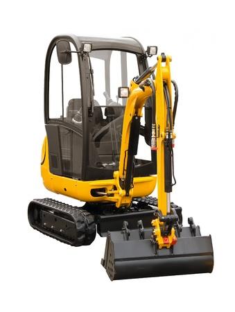technics: Small excavator Stock Photo