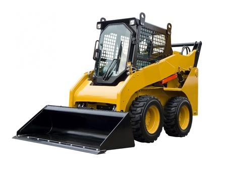 Kleine buldozer Standard-Bild - 21621476
