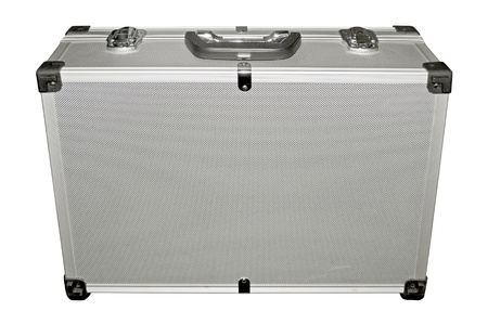 Metal suitcase photo