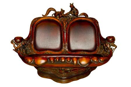 beauteous: Antique sofa