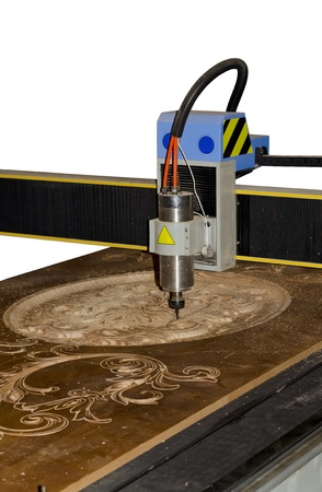 wood cutter: CNC Router