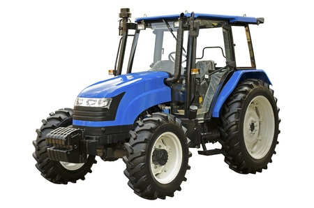 Agricultural tractor photo