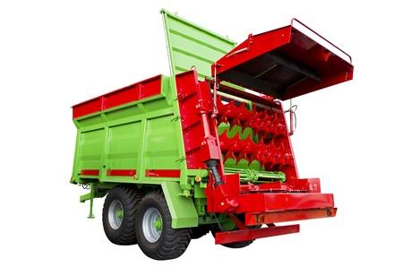 manure: Fertilizer spreader