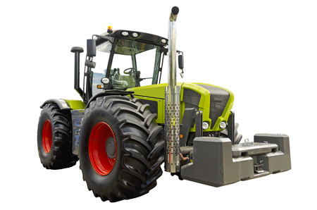 agronomics: Agricultural tractor