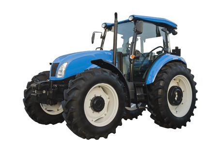 agriculture machinery: Agricultural tractor