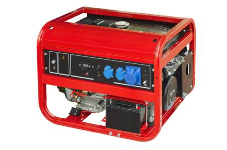 Tragbaren Generator auf einem weißen Hintergrund Standard-Bild - 41084047