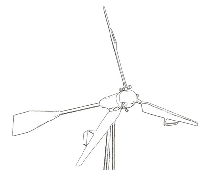 windpower: Outlines of the wind turbine