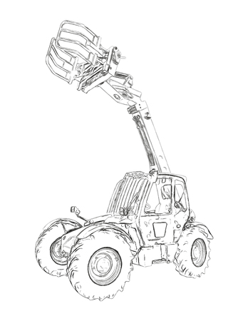 Outlines of the telescopic handler