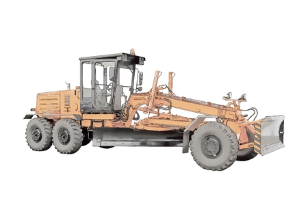 Picture of the grader