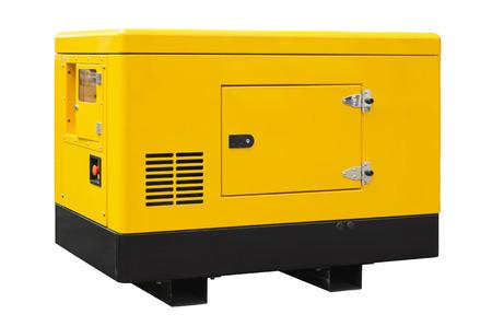Grande generatore isolato su uno sfondo bianco