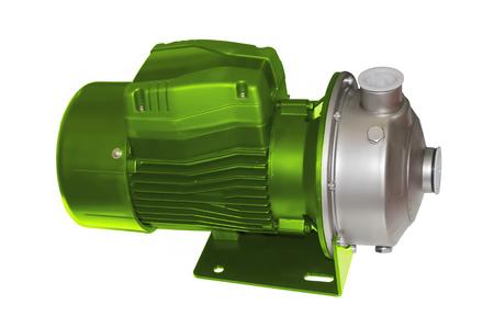 Surface centrifugal pump isolated on white background Imagens - 123646675
