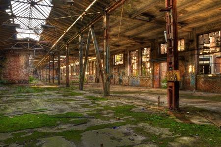 abandoned warehouse: Abandoned warehouse in Leipzig