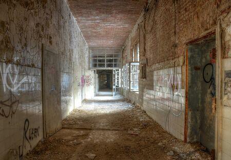Corridor in surgery in Beelitz photo