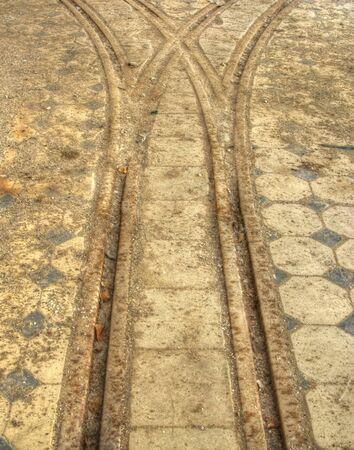 railtrack: Old tracks for the transport of goods