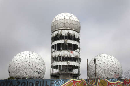 bugging: Spiers of the old NSA listening station on Teufelsberg Editorial