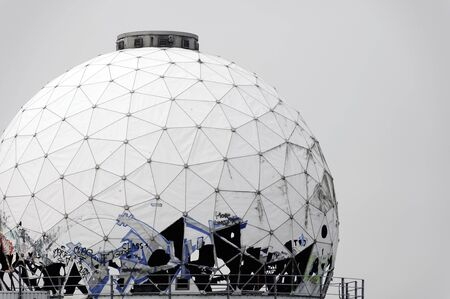 bugging: Dome of the abandoned listening station Teufelsberg