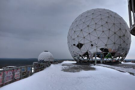 bugging: Dome on the Teufelsberg in Berlin