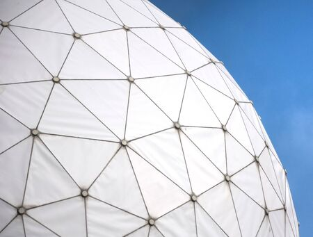 bugging: Protect pattern of the dome antennas from wind and weather