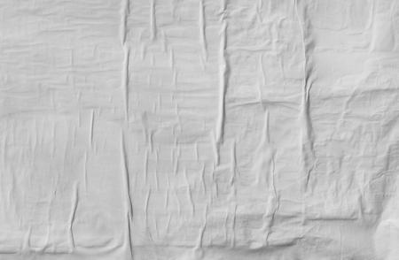 Wrinkled paper texture Banque d'images