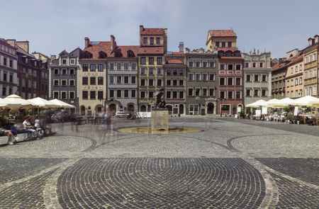 Warsaws old town square