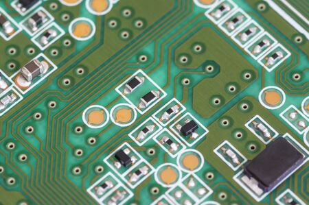 Close up photos of electronic circuit board 版權商用圖片 - 130897284