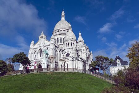 Basilica of the Sacred Heart of Paris 版權商用圖片 - 134334942