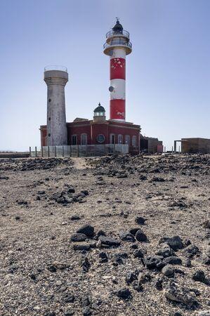 El Toston Lighthouse in Fuerteventura Island