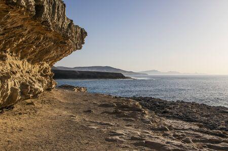 Cliffs of Fuerteventura near Ajuy