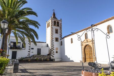 Old town in Betancuria, Fuerteventura, Canary Islands 版權商用圖片 - 140727968