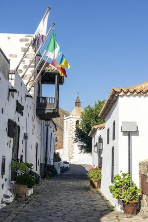 Old town in Betancuria, Fuerteventura, Canary Islands 版權商用圖片