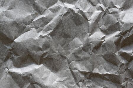 Gray, blank, creased paper texture