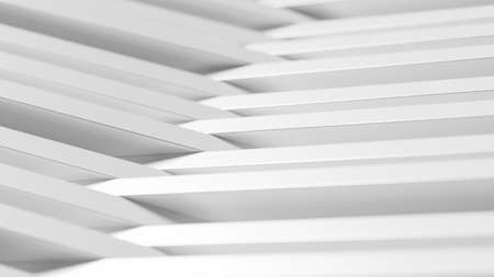 Abstract background made of white long cubes. 3d rendering 版權商用圖片