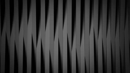 Abstract background made of black, long cubes. 3d rendering 版權商用圖片