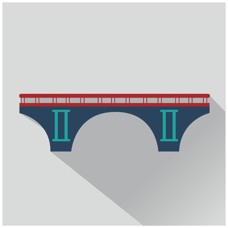 Vector isolVector isolated bridges big icons set ated bridges big icons set Ilustrace
