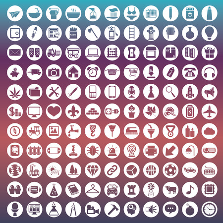 interface design: Set of icons for web and user interface design.
